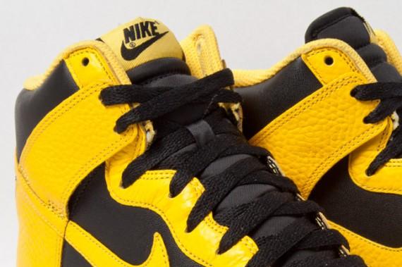 yellow nike dunks