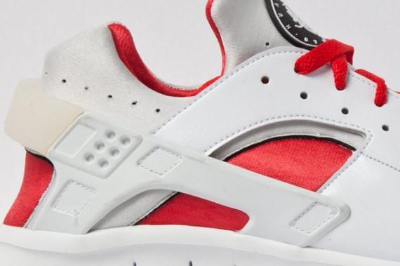 Nike Huarache Free 2012 White Red