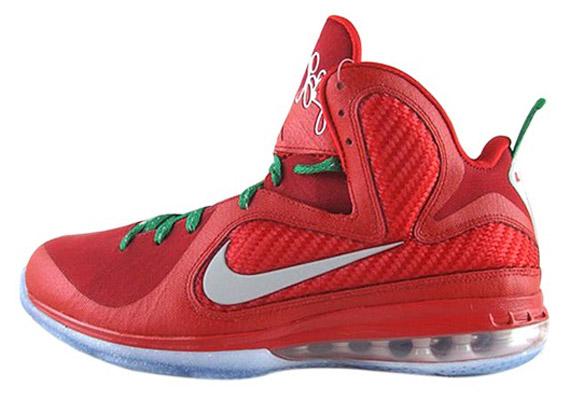 14e0a4fe2774 Nike LeBron 9  Christmas Day  - New Photos - SneakerNews.com