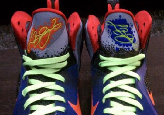 Nike LeBron 9 'Nerf' Customs by Mache