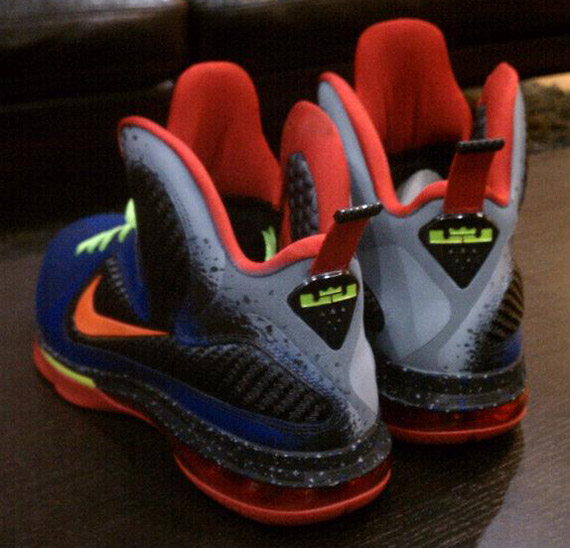 official photos 705ac 3b8c4 Nike LeBron 9 Nerf Customs by Mache low-cost