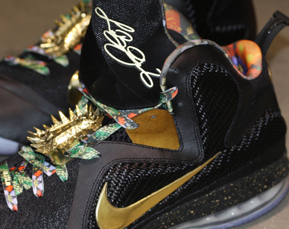 d36e43f6cde Nike LeBron 9  Watch The Throne  - Detailed Images - SneakerNews.com