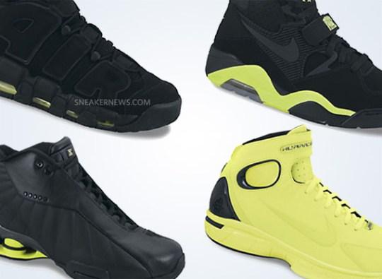 Nike Retro Basketball 'Volt' Pack