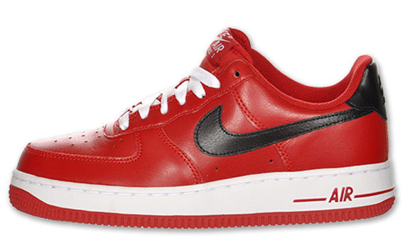 sports shoes fa59d c9a28 Nike WMNS Air Force 1 Low Gym Red Black White 30%OFF