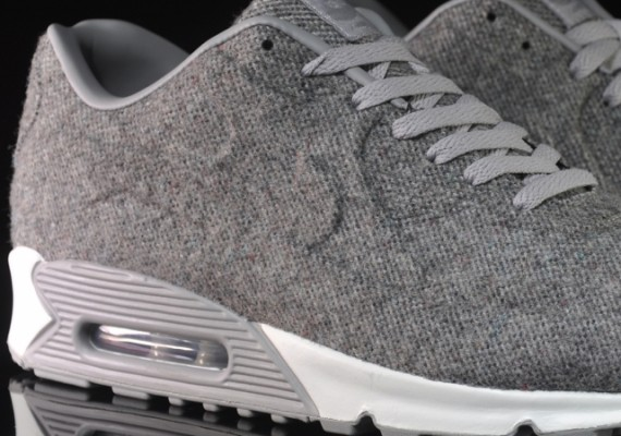 nike air max 90vt tweed grey