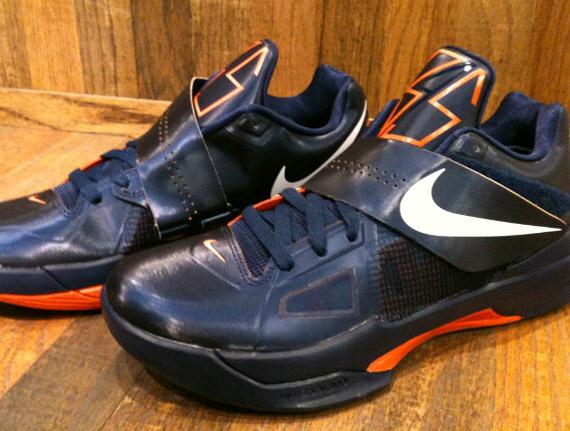 1f92194892db Nike Zoom KD IV - Navy - Orange - SneakerNews.com