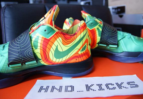 Nike Zoom Kd Iv 39 Weatherman 39 Release Reminder