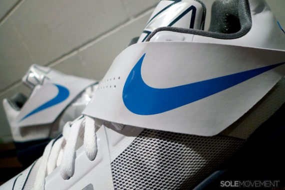 Nike Zoom KD IV White Midnight Navy New Images