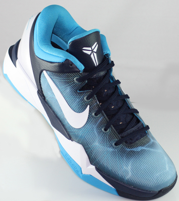 39cfb813f33c Nike Zoom Kobe VII Obsidian White-Blue Grey-Current Blue 488371-401  02 14 12  140. Advertisement