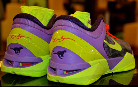 Nike Zoom Kobe VII Supreme Cheetah New Images durable service ... b01e82e40
