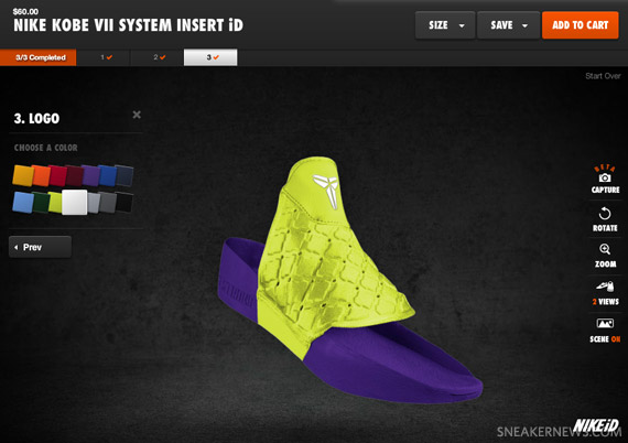 abd12e4e522b Nike Zoom Kobe VII Supreme Inserts - Customizable on Nike iD ...