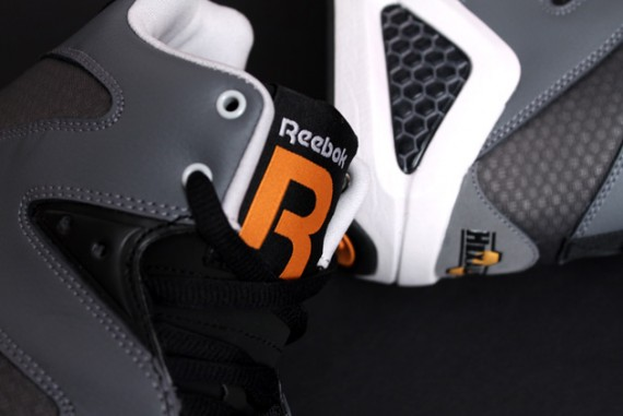 Reebok Kamikaze III – Grey – Black – Orange