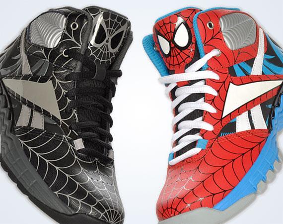 be2b96ad Marvel Comics x Reebok ThermalVibe - Spiderman - SneakerNews.com