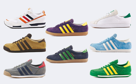 Sneakerfolio | Adidas Shoes Archive Collection 2014