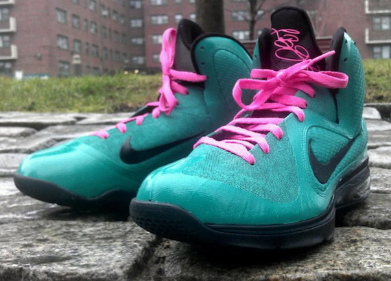 Nike LeBron 9  South Beach  Customs by Da Prince - SneakerNews.com 33f7685c5