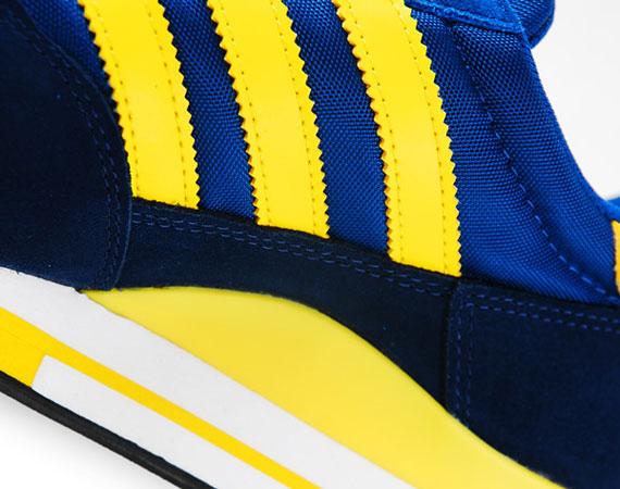 adidas Originals ZX 500 - Blue - Yellow