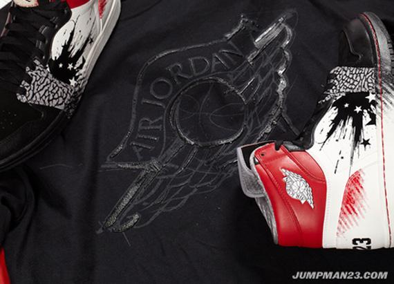 Air Jordan 1 Dave White Retro Detailed Images