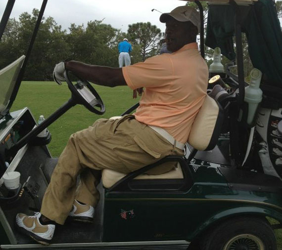 c4214c31aaa Celebrity Feet: Michael Jordan - Air Jordan 2012 Golf Shoes ...