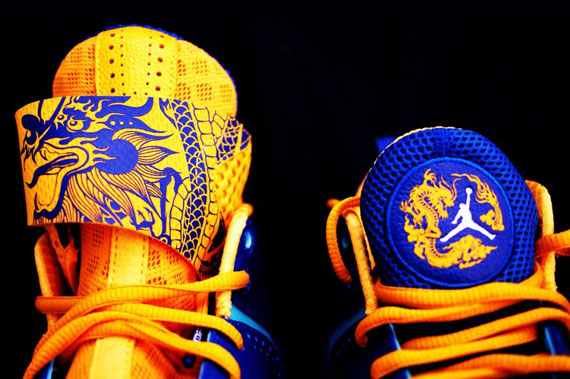 sale retailer c7ec6 de6d6 Air Jordan 2012  Year of the Dragon  – Detailed Photos