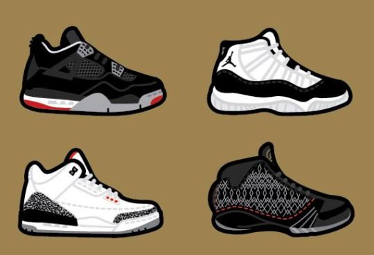 Air Jordan Art By Robb Harskamp