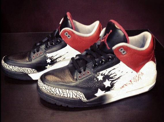 e697c0447e55 Air Jordan III  Dave White  Customs by Mache - SneakerNews.com