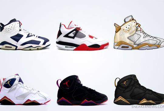 Air Jordan Retro Releases – Fall 2012