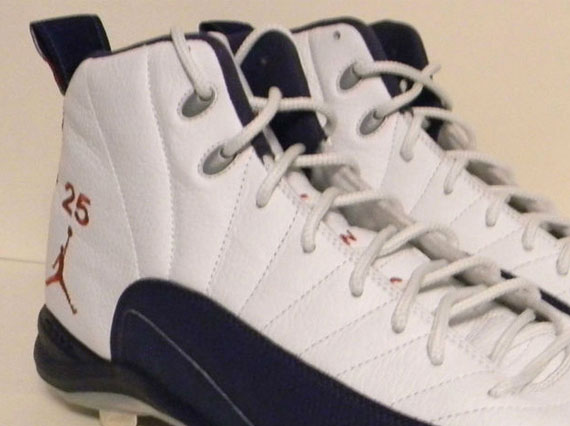 Air Jordan XII - Andruw Jones PE Cleats - SneakerNews.com 372e9d445
