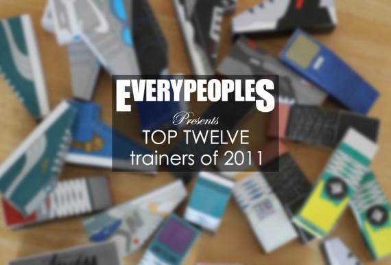 Everypeoples 'Top 12 Trainers of 2011' Sneaker Sculptures