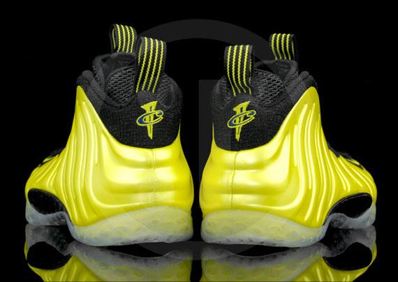 24103a191ee Nike Air Foamposite One - Electrolime - Black