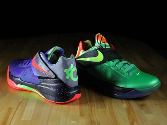 size 40 e3463 37650 Nike Zoom KD IV  Nerf     Weatherman  Comparison - SneakerNews.com