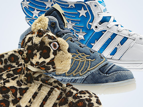 finest selection 91955 5a737 Jeremy Scott x adidas Originals Spring 2012 Kids Collection ...