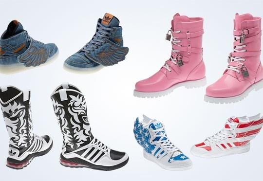Jeremy Scott x adidas Originals – February 2012 Releases