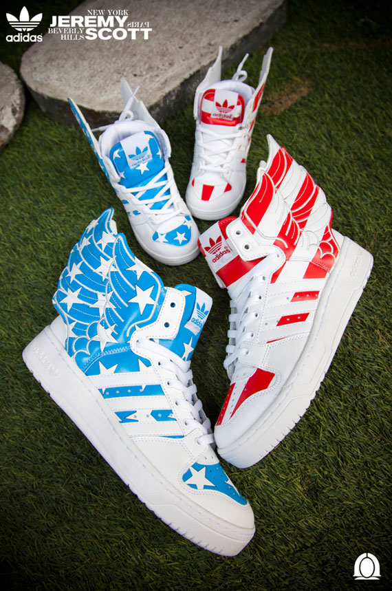 Adidas Jeremy Scott Wings 2.0 Us Air Flag