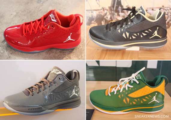 Jordan CP3.V Upcoming Colorways And PEs