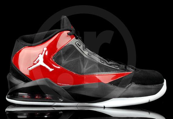 Nike Air Jordan Flight The Power Black White Varsity Red