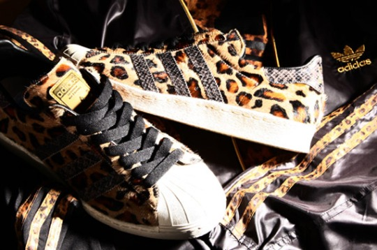 Kinetics x adidas Originals Superstar 80s 'Animal'