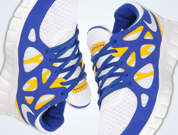 new arrival 5eea0 275e2 LIVESTRONG x Nike Free Run+ 2 LAF - SneakerNews.com