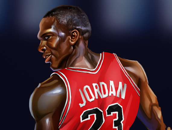Michael Jordan Artwork