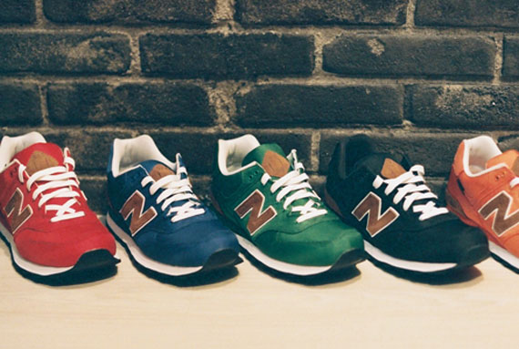 New Balance 574 'Backpack Collection' - SneakerNews.com
