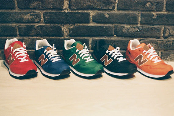 new balance 574 collection