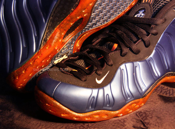 238bd4ac6cd Nike Air Foamposite One  Knicks  Customs By Jason Negron ...