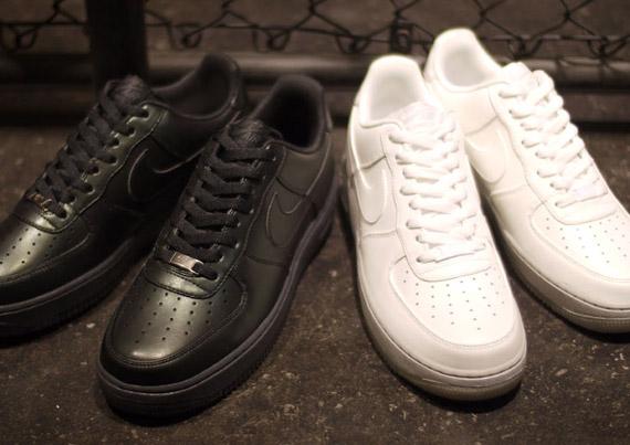 Nike Air Force 1 Faible Faux Noir
