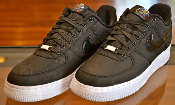 Nike Air Force 1 Low Supreme Tz Black 516630 090 Advertit