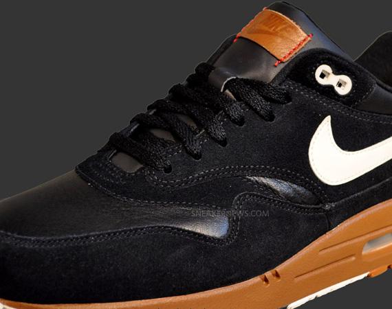 free shipping c15ae 4d495 Nike Air Max 1 Premium – Black – Brown – White   May 2012