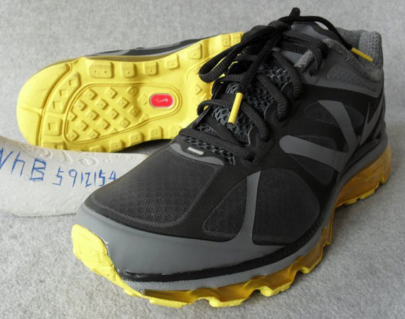 nike air max 2012 yellow and gray