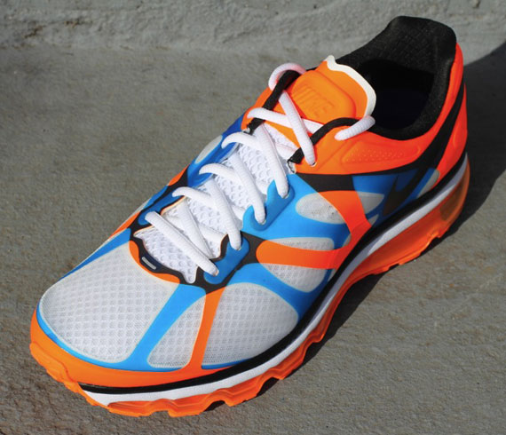 nike air max 2012 white black total orange bright