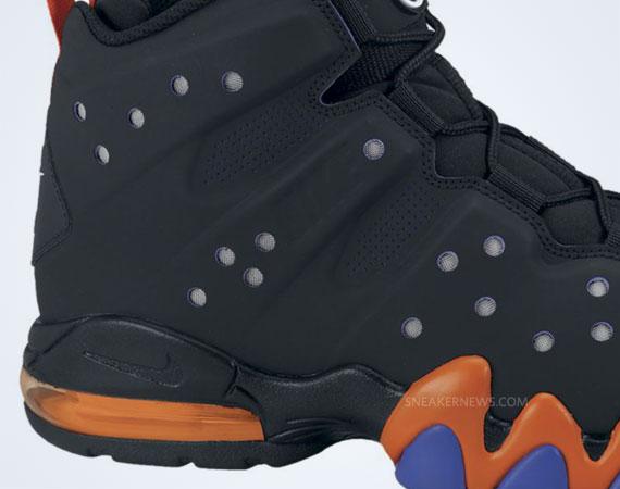 classic fit 41643 d8723 Nike Air Max Barkley Black Black-Safety Orange-Pro Purple 488119-085  130.  Advertisement. show comments