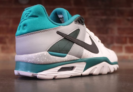 Nike Air Trainer Classic Low – White – Grey – Teal