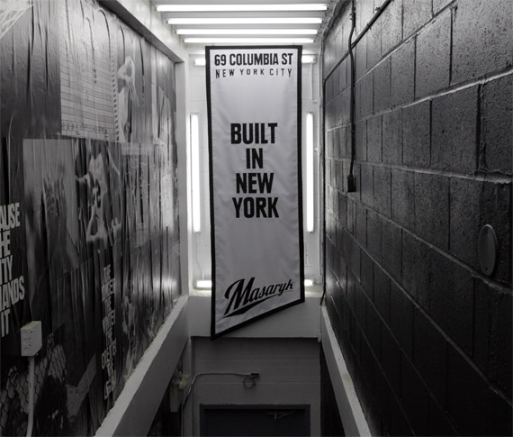Courts Store New York: Nike Basketball @ Masaryk Towers NYC