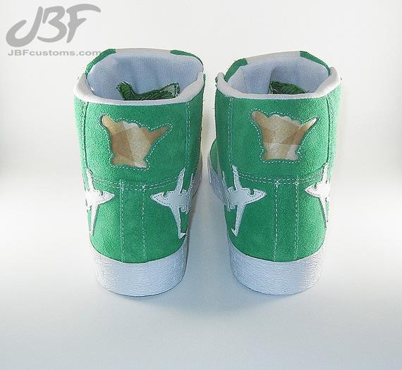Nike Blazer Mid Jet Life Ii Customs By Jbf Sneakernews Com